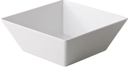 Vierkante bak wit 24 x 24 x 10,5 cm (Set van 3)
