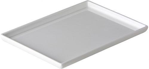 Rechthoekig bord 24,7 x 16,9 cm (Set van 6)