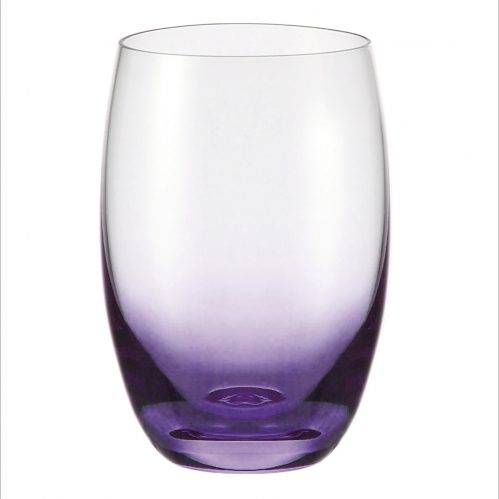Waterglas lila 500 ml GlassPoint