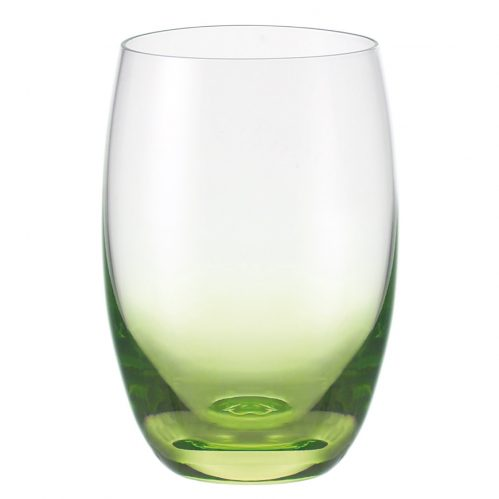 Waterglas groen 500ml GlassPoint