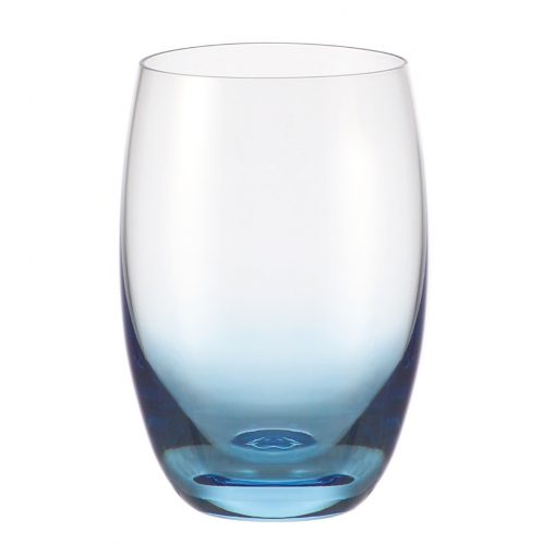 Waterglas blauw 500 ml GlassPoint