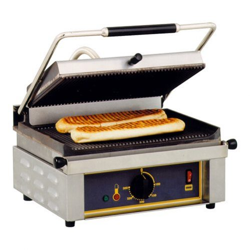 Contactgrill Panini (gegroefd/gegroefd)