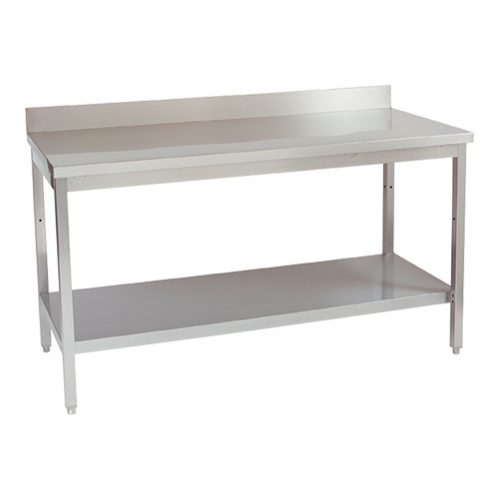 Werktafel 200Cm Opstand+Plank