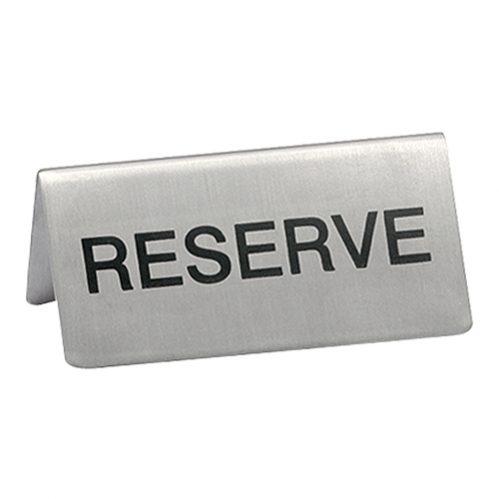 Bordje Reserve 2 Zijdig