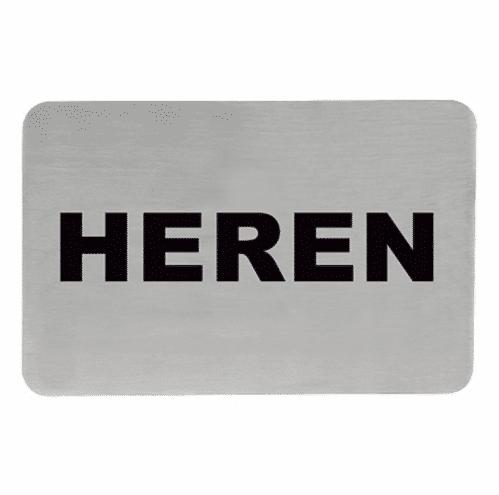 Tekstplaatje J Heren