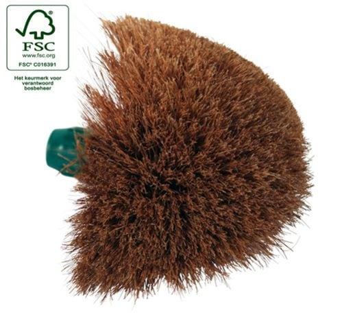 Ragebol met houder 21×16,5 cm haar (Set van 12)