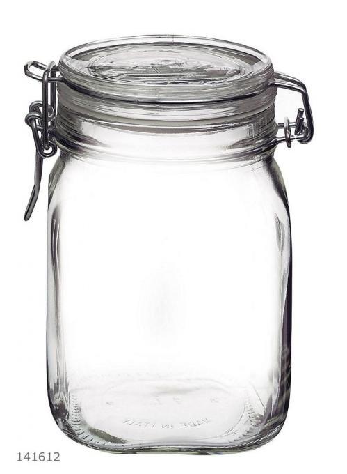 Fido Weckpot 1 liter (Set van 6)