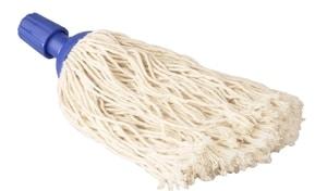 Spaanse mop 32 cm blauw 220 gram