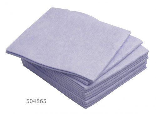 Vaatdoek 38×40 cm blauw (Set van 200)