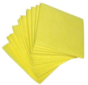 Vaatdoek 38×40 cm geel (Set van 200)