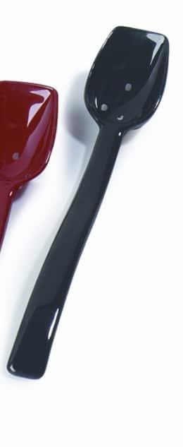 Serveerlepel 25 cm zwart (Set van 12)