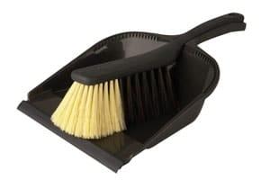 StofblikSet 34×21 cm zwart Coronit (Set van 10)