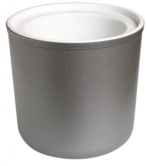 Pot 1,9 liter rond met onderzetter grijs Coldmaster