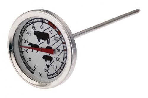 Vleesthermometer 14,5 cm (Set van 5)