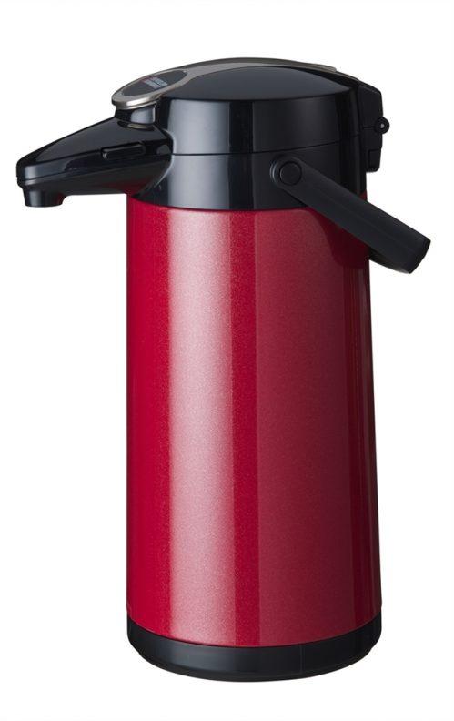 Bravilor Airpot Furento rvs rood metalic
