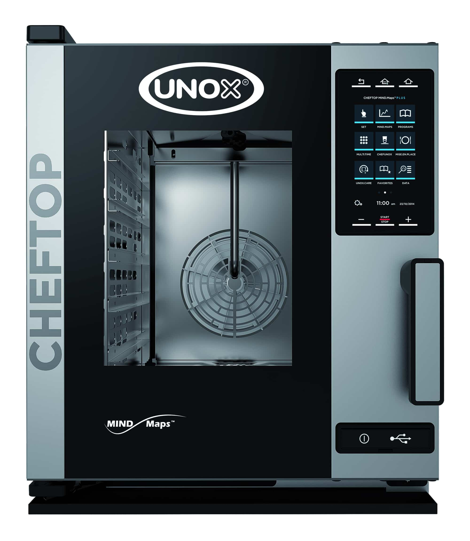Unox ChefTop Mind.Maps 5 GN 1/1 One Electric