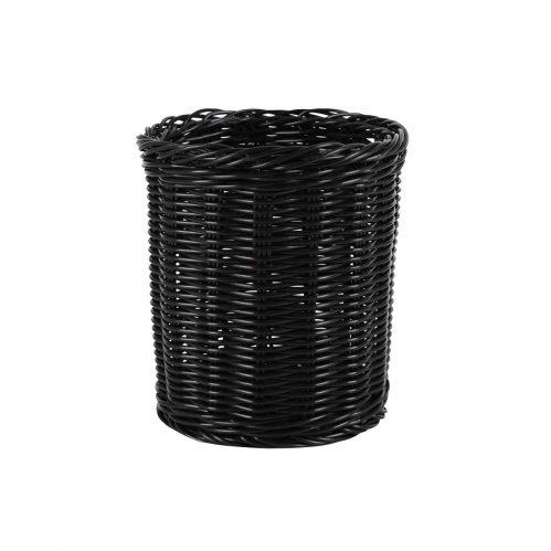 Bestek beker pp 15,5 cm zwart