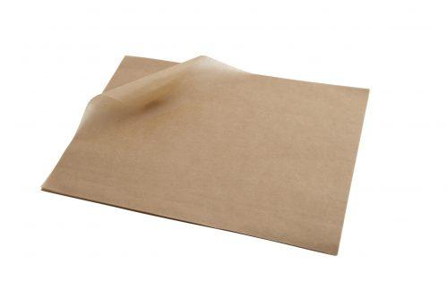 Vetvrij papier bruin 25 x 20 cm 1000st