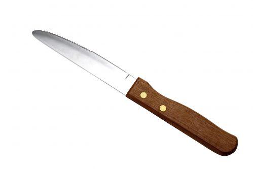 Steakmes jumbo handvat 25 cm (Set van 12)