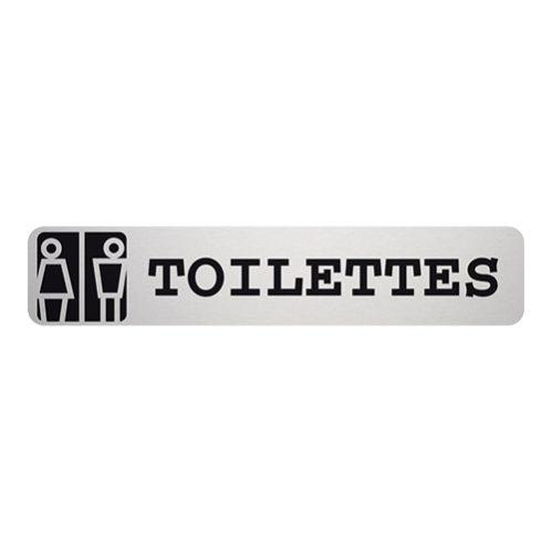 Tekstplaatje Toilettes