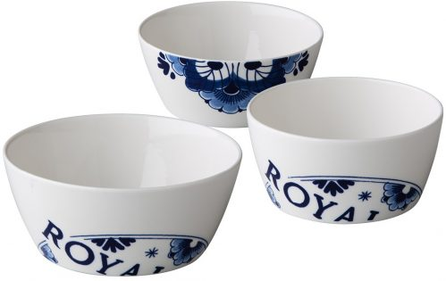 Royal Delft kom 600 ml (Set van 6)