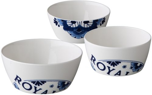 Royal Delft kom 350 ml (Set van 6)