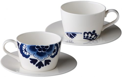 Royal Delft kop 220 ml (Set van 6)