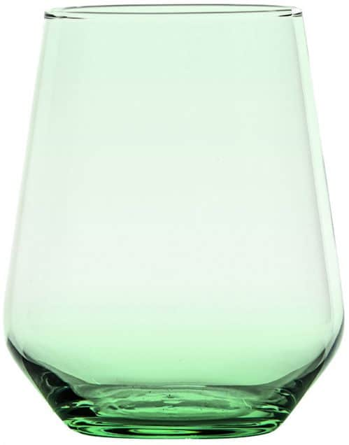 Waterglas Allegra groen 430 ml (Set van 6)