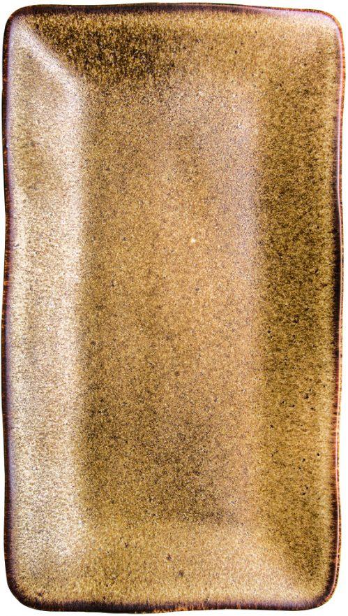 Rustico Natura rechthoekig bord 27,5 x 15,5 cm (Set van 6)