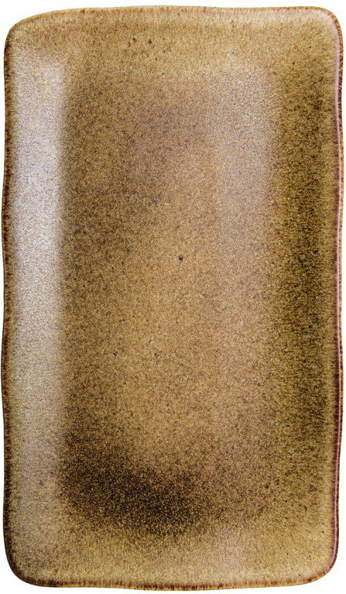 Rustico Natura rechthoekig bord 35 x 21 cm (Set van 4)