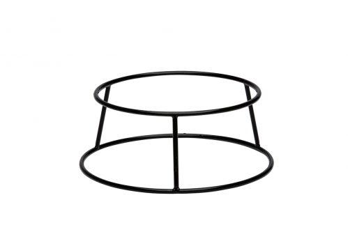 Buffetverhoger anti-slip zwart 25x21x10 (Set van 6)