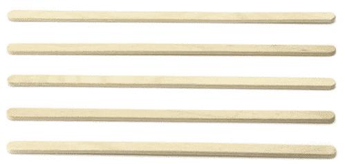 Roerstaafje Hout (Fsc)  140 X 6,5 X 2,3Mm
