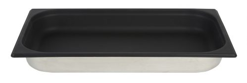 Gastronormbak Sllicone 1/1 GN 65mm Diep Zwart