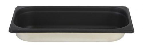 Gastronormbak Sllicone 1/3 GN 65mm Diep Zwart