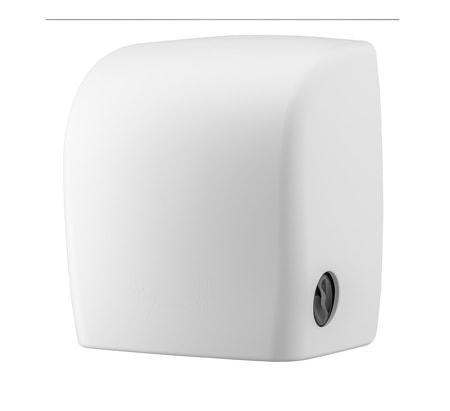 PlastiQline 2020 Handdoekroldispenser kunststof wit + restrol