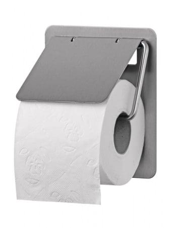 SanTRAL Toiletrolhouder 1rols RVS