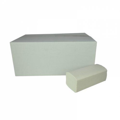 Handdoekjes Z-vouw 2 lg 23 x 25 cm Wit