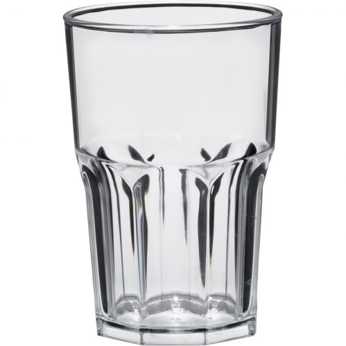 Glass Granity 40cl Transparent Plastic (Set van 5)