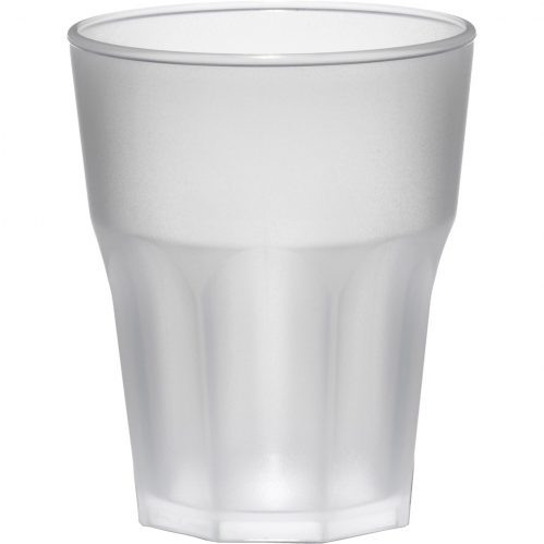 Glass Rox 30cl Frosted Plastic (Set van 8)