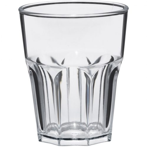 Glass Rox 30cl Transparent Plastic (Set van 8)