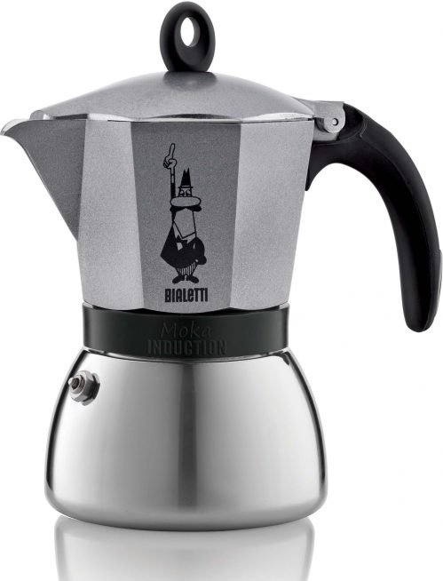 Moka Induction Koffiekan 3T – Goud-Grijs