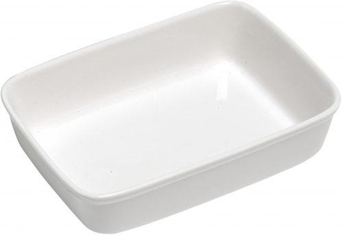 Gourmet Ovenschotel Wit 30 x 21,5Cm Rechth (Set van 4)