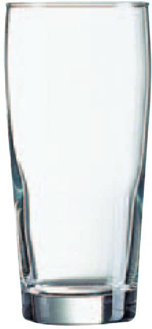 Willi Becher Bierglas 33Cl (Set van 12)
