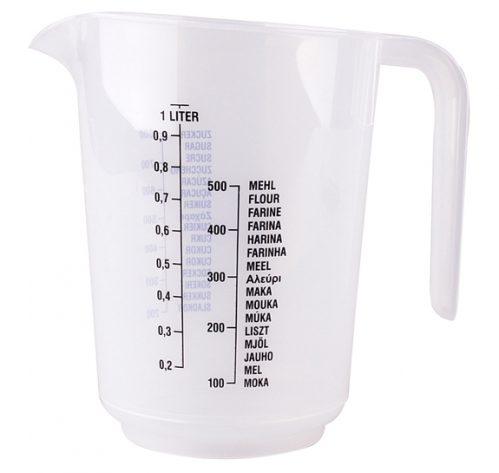 Maatbeker 1 liter frost