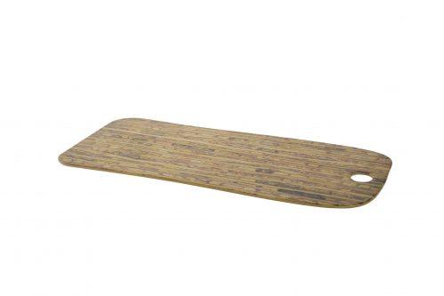 Serveerplank 53X20 Cm Rechthoekig Bamboe Melamine