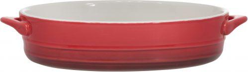 Red Gratinschotel 21 x 15,5 x h5Cm Ovaal Bin (Set van 18)