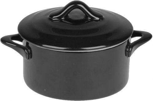 Black Ovenschotel Met Deksel 0,2L D10 x h5 (Set van 6)