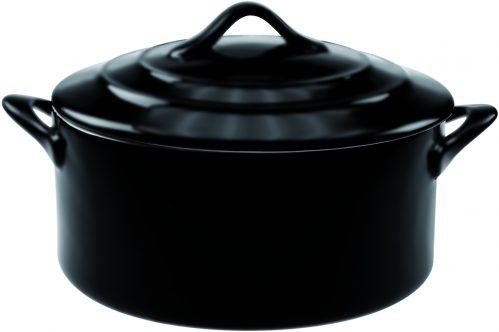 Black Mat Ovenschotel Met Deksel 0,2L D1 (Set van 6)