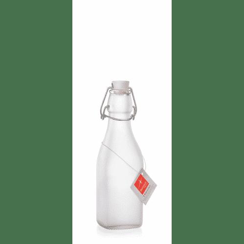Fles 0,25 Liter Frosted Met Beugel Swing (Set van 6)