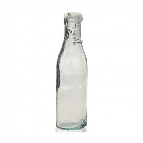 Fles 0,5 liter met beugel (Set van 6)